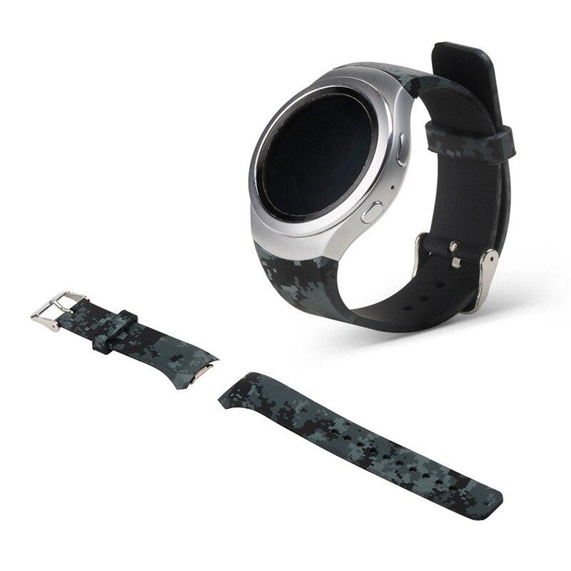 22mm Luxury Silicone Watch Band Straps For Samsung Galaxy Gear S2 SM-R720 Durable Sports Bracelet Wristband Correa Reloj