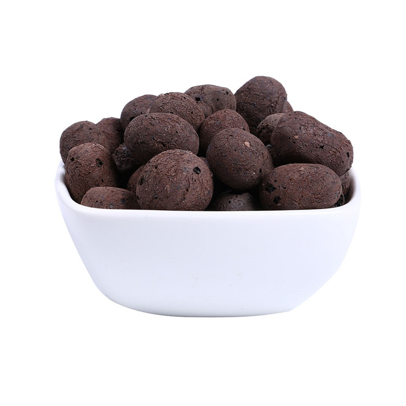 100g Ceramic Hydroponic Soil Pottery Carbon Ball Nutrient Soil Organic Expanded Clay Pebbles For Plant Aquaculture image