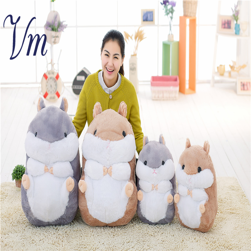 Cute Japanese Hamster Plush Toy Dolls Send Girlfriends Children Birthday Gift Dolls Simulation Animals 6pcs plants vs zombies plush toys 30cm plush game toy for children birthday gift