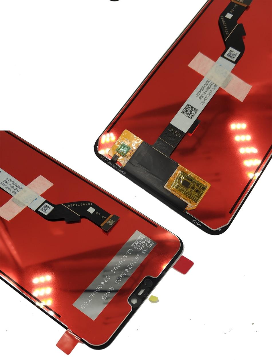 Image 3 - Dla Xiao mi mi 8 Lite/mi 8X wyświetlacz LCD + rama ekran dotykowy digitizer montaż wyświetlacz LCD 10 punkt dotykowy naprawa części w Ekrany LCD do tel. komórkowych od Telefony komórkowe i telekomunikacja na
