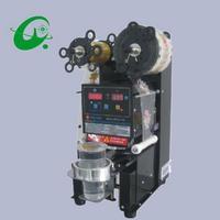 95mm Intelligente Completamente automatica di Tenuta Macchina Tappatore Tappatura Macchina Imballatrice Aggraffatrice Con PP Bicchieri di Carta