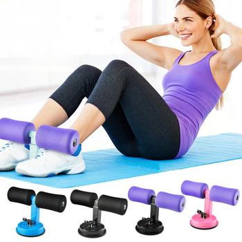 1PC Self-Suction Sit-Ups Abdominal Exercise Adjustable Assistant Equipment  Home Fitness Workout Accessories Abdomen Lose Weight 1