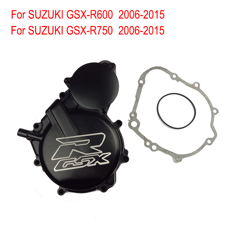 For SUZUKI GSX-R750 GSX-R600 2006-2015 Engine Stator Crank Case Cove Motorcycle Engine Stator Cover GSXR600 GSXR750 GSXR 600 750 suzuki gsx r750 motorcycle service repair maintenance shop manual 2004 2015 [cd rom]