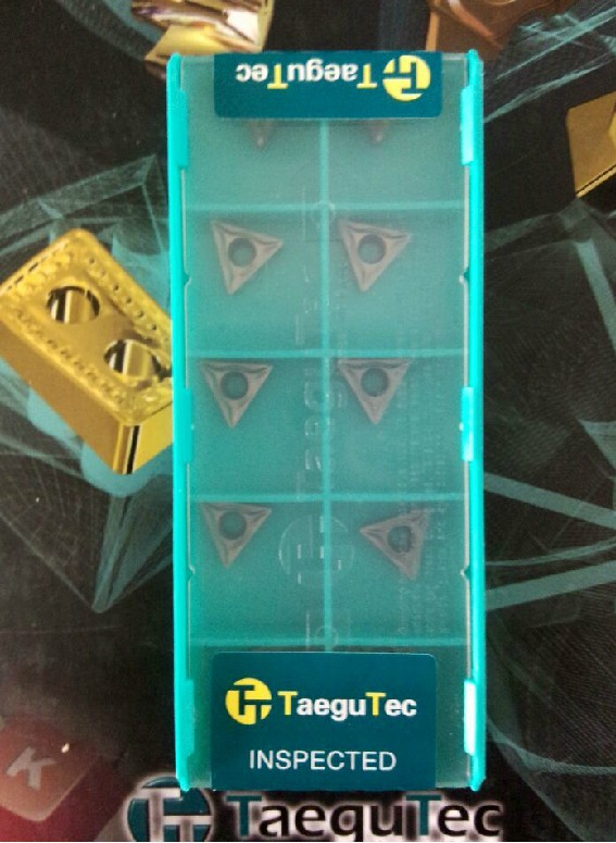 tungsten carbide inserts Taegutec TCMT110204FG CT3000 wholesale TCMT 110204 FG CT3000 for steel cast iron stainless