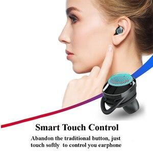 Image 4 - X8 TWS אלחוטי Bluetooth אוזניות סטריאו אוזניות IPX6 עמיד למים מיני ספורט Earbud Hifi קול מגע בקרת אוזניות עם מיקרופון