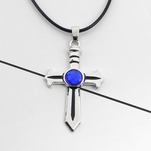 Fairy Tail Leather Rope Choker Necklace