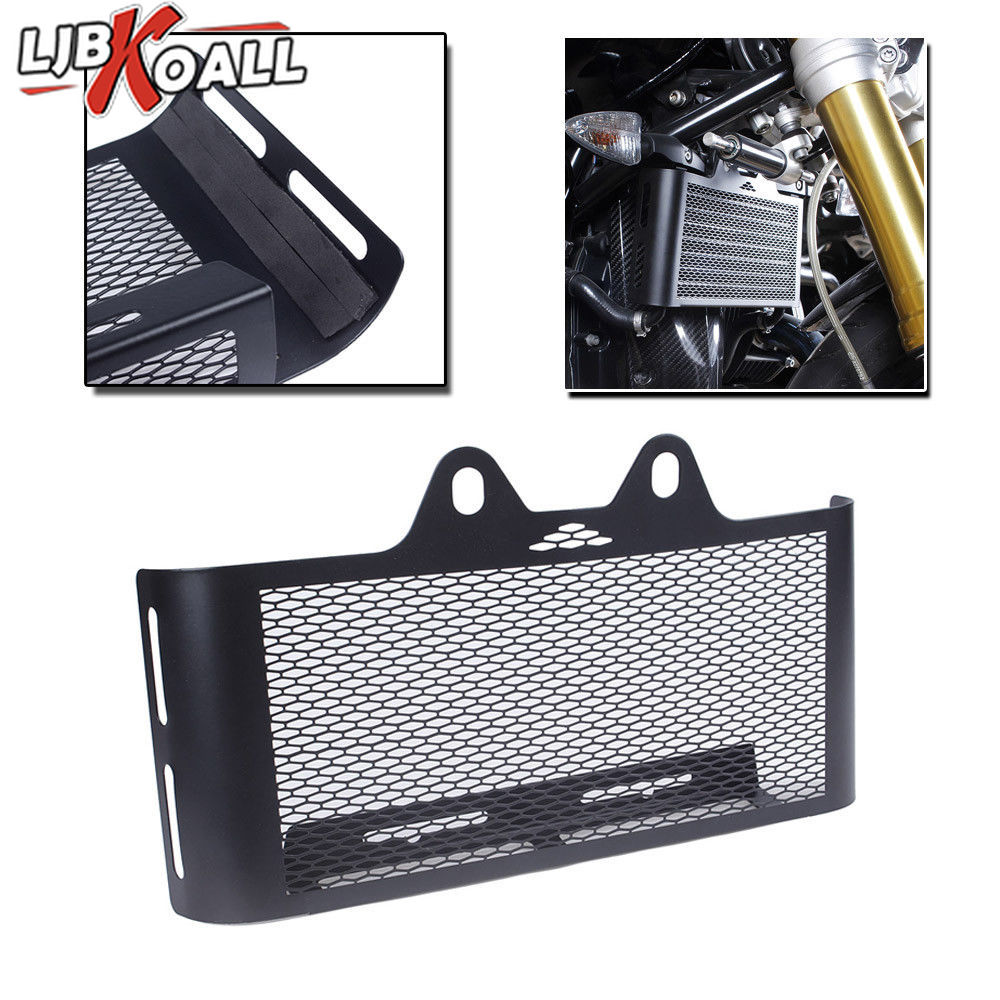For BMW R Nine T Radiator Guard Grille R9T Pure Oil Cooler Protection Cover 2014 2015