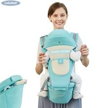 Купить с кэшбэком 2019 New Upgrade Storage HipSeat Baby Carrier 0-48Month Baby Sling Kangaroo Newborn Prevent o-type Legs Sling Wrap