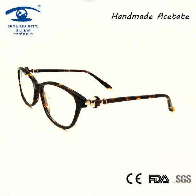 Высокое Качество Дизайнер Бабочка Оправы для очков Алмазные Очки Женщины Очковая оправа Прозрачные lentes opticos mujer