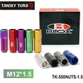 TANSKY - Blox Racing Forged 7075 Aluminum Wheel Lug Nuts P 1.5, L: 60mm 20Pcs TK-550NUTS-1.5