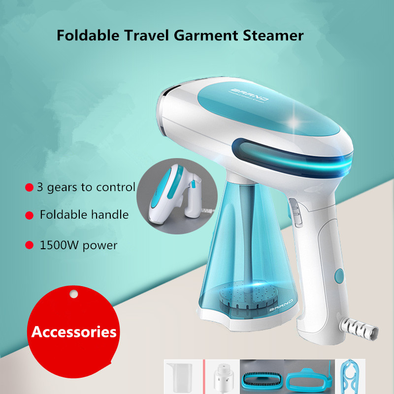 Latest Portable Ironing Garment Steamer Machine for Home Travel Handheld Fabric Clothes Steamers Vertical Iron Steam Brush clothes iron