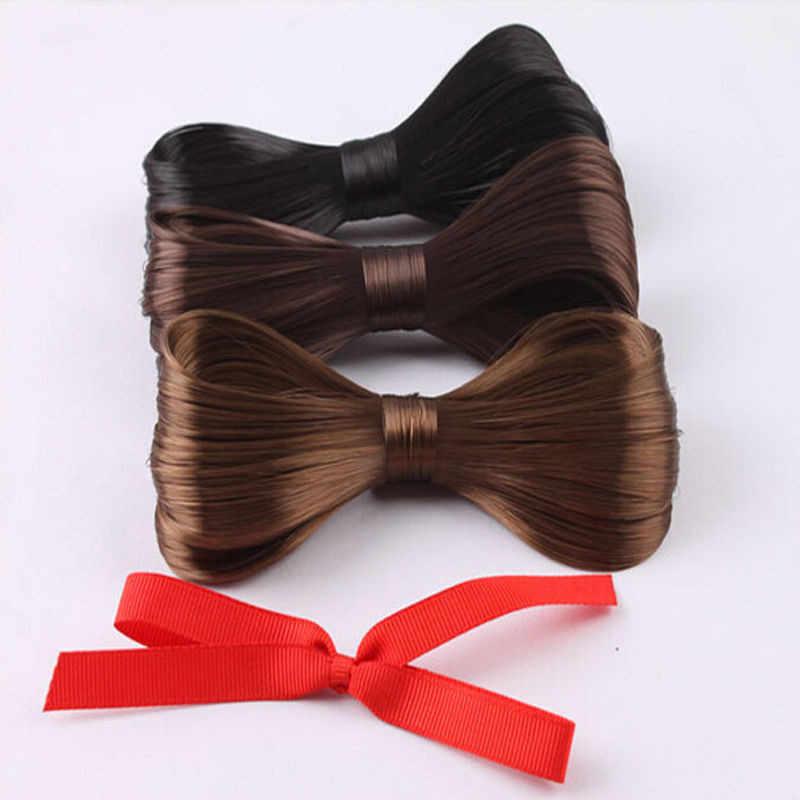 1 шт. большой галстук-бабочка в форме парика заколка для волос для девочек Изысканная красивая элегантная заколка для волос аксессуары для волос