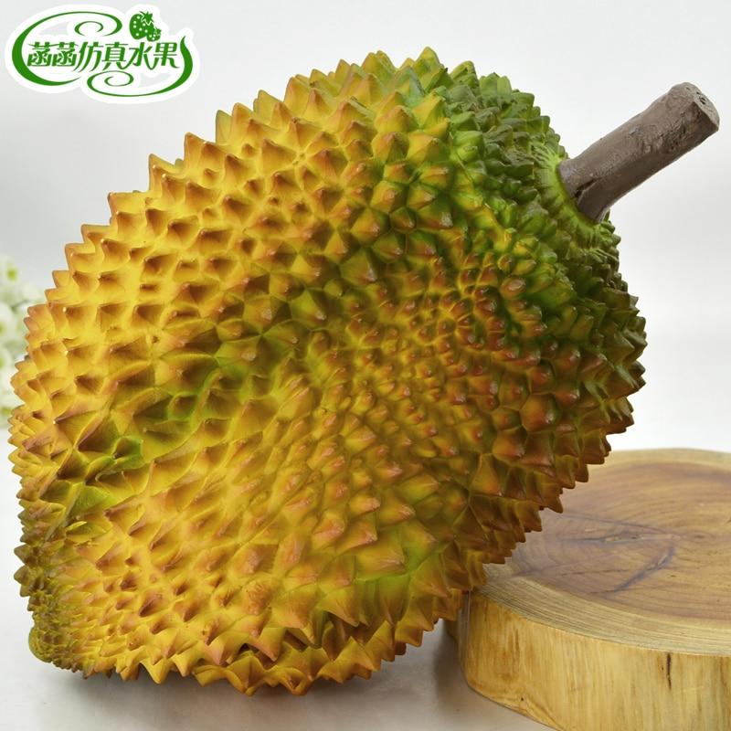 Durian lotus durian falešné ovoce model domácí fotografie rekvizity dekorace