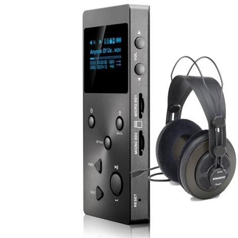Verlustfreie Musik Mp3 Hifi Player Unterstützung Ape/flac/alac/wav/wma/ogg/mp3 Gut Xduoo X3 + Samson Sr850 Kopfhörer