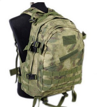Enthusiastic 40l Outdoor Hunting Assault Backpack Airsoft 3day Molle Camel Pack Atacs Fg Hunting Camouflage