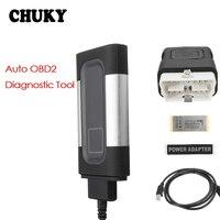 CHUKY OBD2 Car Fault Diagnostic Scanner Detector Tool For Ford Focus 2 3 VW Passat B6 B5 B7 B8 Toyota Avensis Skoda Rapid Fabia