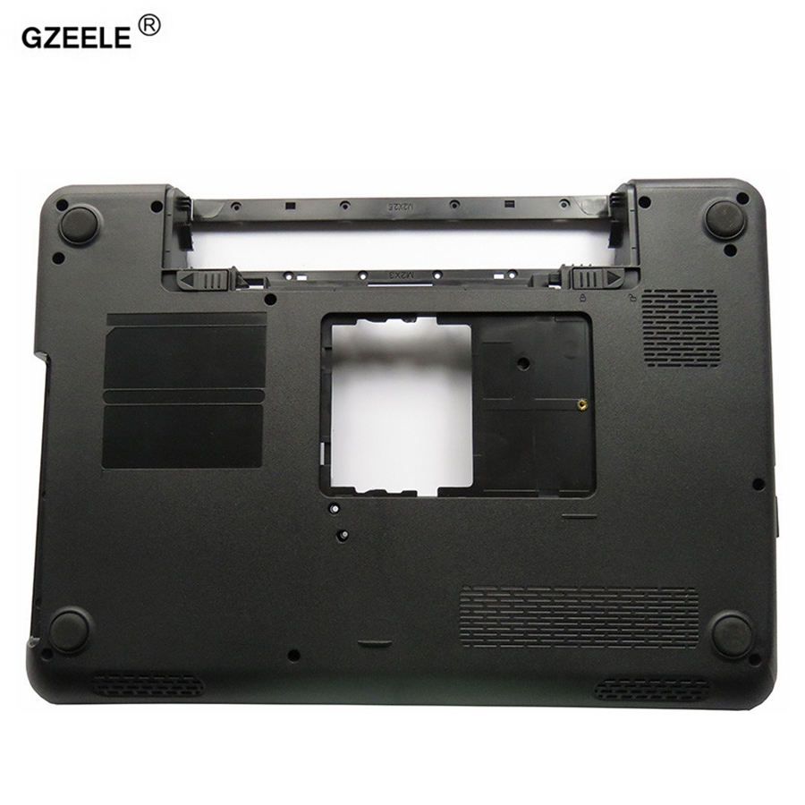 GZEELE NEW Laptop Bottom Base Case Cover FOR Dell Inspiron 14R N4010 Series Cover D Shell P/N 0GWVM7 0GWVH7 Lower case black new for dell inspiron 1464 1564 1764 n4010 fan