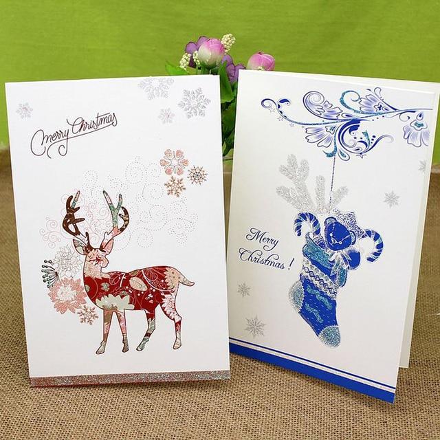 16 pieceslotnew arrival handmade diy elk greeting card with 16 pieceslotnew arrival handmade diy elk greeting card with envelope paper m4hsunfo Choice Image