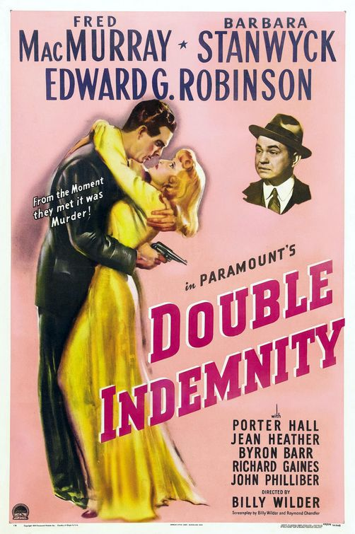 1944: Double Indemnity Best Year Classic Movie Old Film Retro ...