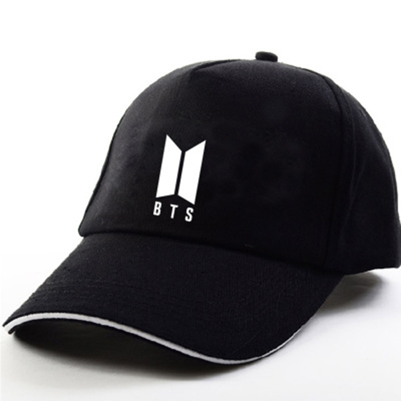 Fashion Unisex BTS Print   Baseball     Cap   Women Men Bulletproof Young Age Group SUGA Airport Hat Causal Adjustable Hats CP0038