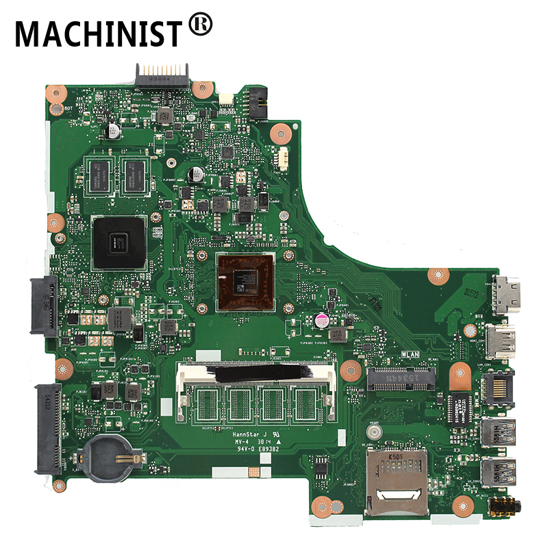 Original For ASUS X450EP X452E X450EA X450E X452EP laptop motherboard A4-5100 CPU HD8600 1G GPU DDR3 100% fully Tested