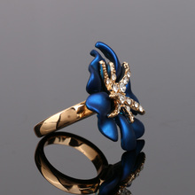 Evening Flower Jewelry Set
