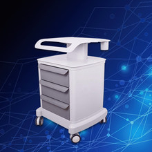 Trolley Roller Mobile Medical Cart With Draws Assembled Stand Holder For Salon Spa HIFU Machine(China)