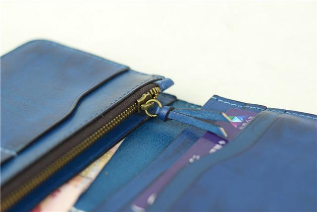 New Fashion Genuine Leather Wallet men Wallet Leather men purse Long Clutch Wallet money bag male wallet coin Purse card holder