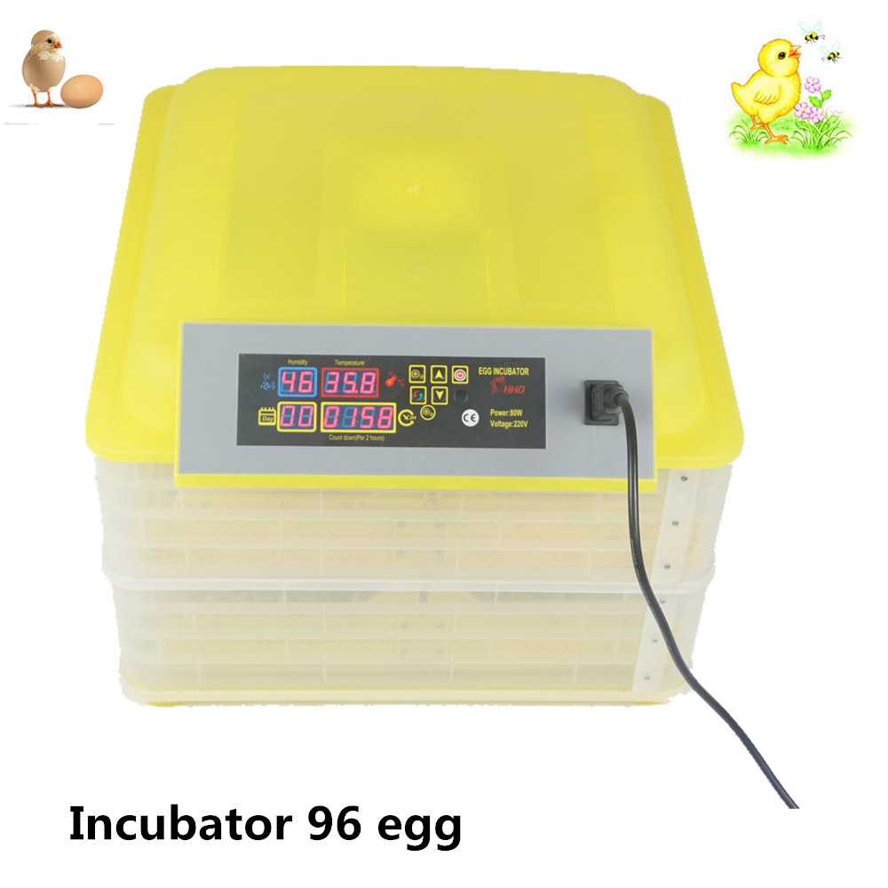 Best Price Digital Automatic Incubator Turning 96 Eggs Poultry Hatchery Chicken Duck аксессуар ремешок activ sport band для apple watch 42mm beige 79538