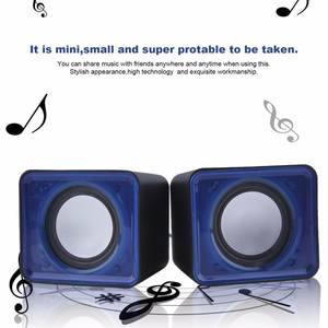 3.5mm Mini Speaker Music Home Theater Party Speaker Jack Desktop Computer Notebook