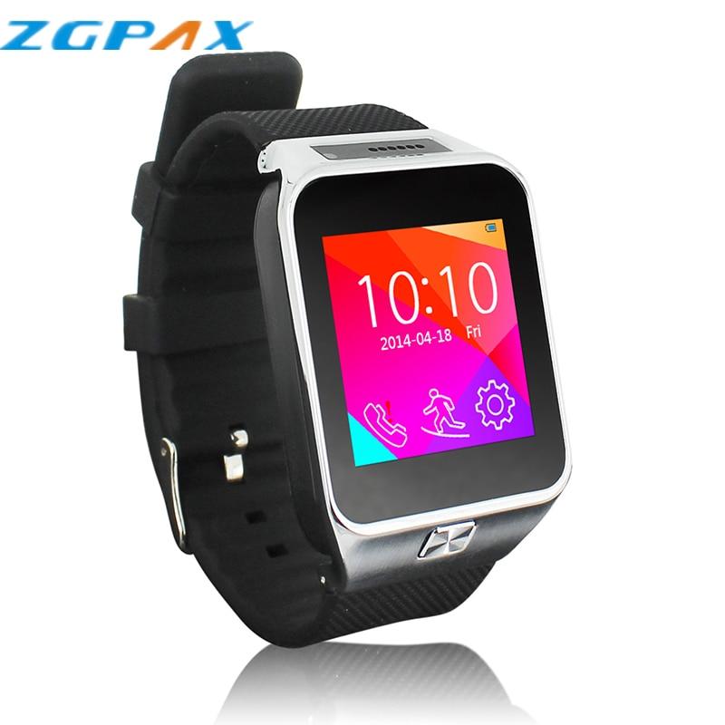 US $37 3 |Wrist Watch MP3 Player APP Installer Android Download Smartwatch  Wearable Devices Bluetooth Watch Montre Smart ZGPAX GSM SIM Men-in Smart