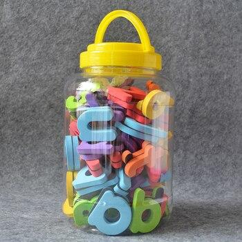Seatrend 114 pcs Magnetic EVA Foam Letters 26 Capital 78 Lowercase 0-9 Number Fridge Magnets Wonderful Gift For Kids Education number