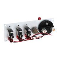 Hot Racing Car 12V Ignition Switch Panel LED Engine Flip up Start Push Button US