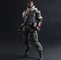 Jogar Arts Kai Solidus Serpente Metal Gear Solid ZEROS TERRA PA 27 cm PVC Action Figure Boneca Brinquedos Caçoa o Presente Brinquedos