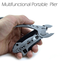 Multifunctional Adjustable Wrench Jaw Multi Tools Kit Survival Gear Pliers Screwdriver Portable Folding Pliers Outdoor Household multi functional mini pliers for outdoor activities household use