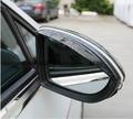 2 шт./лот Окна Козырек Заднего вида Mmirror Приюты Боковое Зеркало Навесы для VW Golf 7 mk7 VII