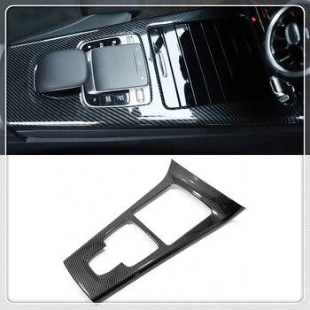 Para Mercedes-Benz UMA Classe W177 2019-2020 Estilo Do Carro Interior do Deslocamento de Engrenagem Tampa Quadro Guarnição ABS Plástico auto Acessórios