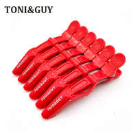 TONY&GUY 6PCS/Lot Professional Alligator Hair Clip For Women Plastic Bobby Pin Hairpins Bow Hair Clips For Girls Styling Tools