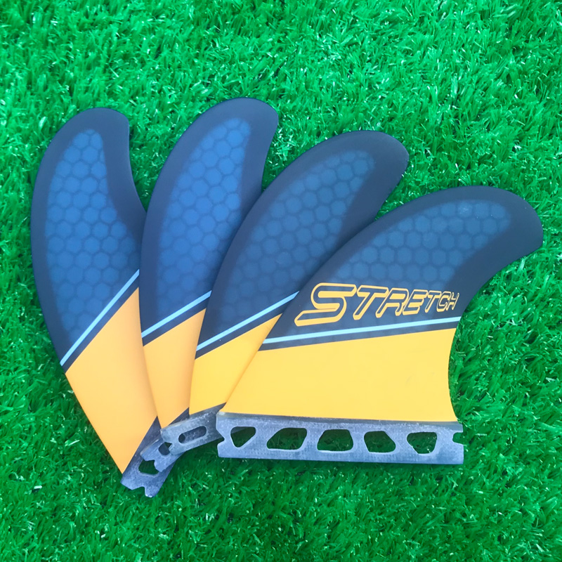 Quad Future Surfboard Shortboard Fins Surf Paddle Fins For Surfing-in Surfing from Sports & Entertainment    1