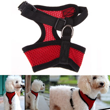 Dog Harness Soft Air Nylon Clothes