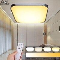 New Energy Saving LED lampada del Soffitto della luce 30 W/54 W bianco Caldo/freddo bianco Dimmerabile Incasso Illuminazione Soggiorno #25-35