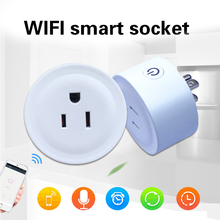 Timing Voice Control Wi-Fi Plug Google Socket Outlet Mini Smart Amazon Alexa Android IOS Home Supplies Echo
