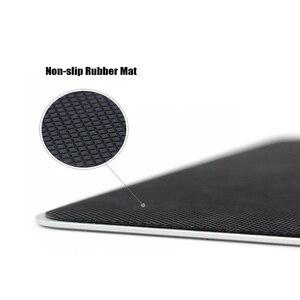 Тонкий игровой коврик для мыши CHYI из алюминиевого сплава, игровой коврик для компьютера и ноутбука Apple MacBook Pro Magic Xiaomi