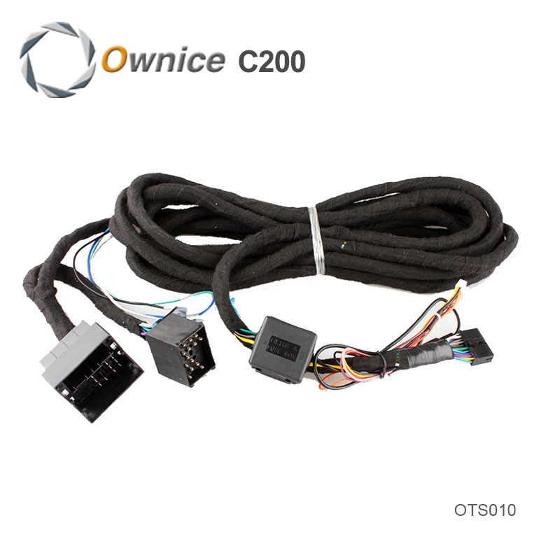 特別な 6 メートルのための Ownice C200 E46/E39 車の DVD 、このアイテム別途販売していない。