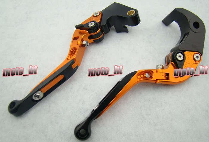 Foldable Brake Clutch Levers For Suzuki 2006-2010 GSXR 600/750 & 2005 2006 GSX-R 1000