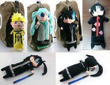 Naruto & friends plush pencil cases / bags