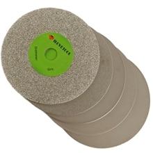 4 inch 100 mm Grit 80- 3000 Diamond Coated Flat Lap Disks Grinding Polish Wheel ILOVETOOL