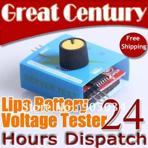 Free Shipping G.T. Power ESC Servo Tester CCPM Consistency Master Checker 3CH 4.8-6V