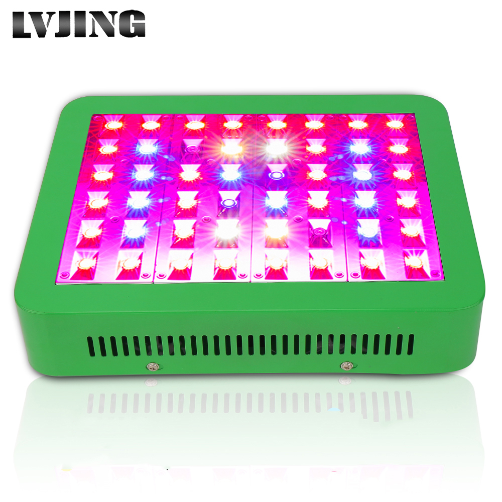LVJING 300W LED Grow Light Full Spectrum Veg/Bloom Switchable Indoor Plants Flowers growing hydroponic Lamp phytolamp led Panel full spectrum led grow light 300w phytolamp for indoor greenhouse plants growing medical flower vegetables fruit all stages
