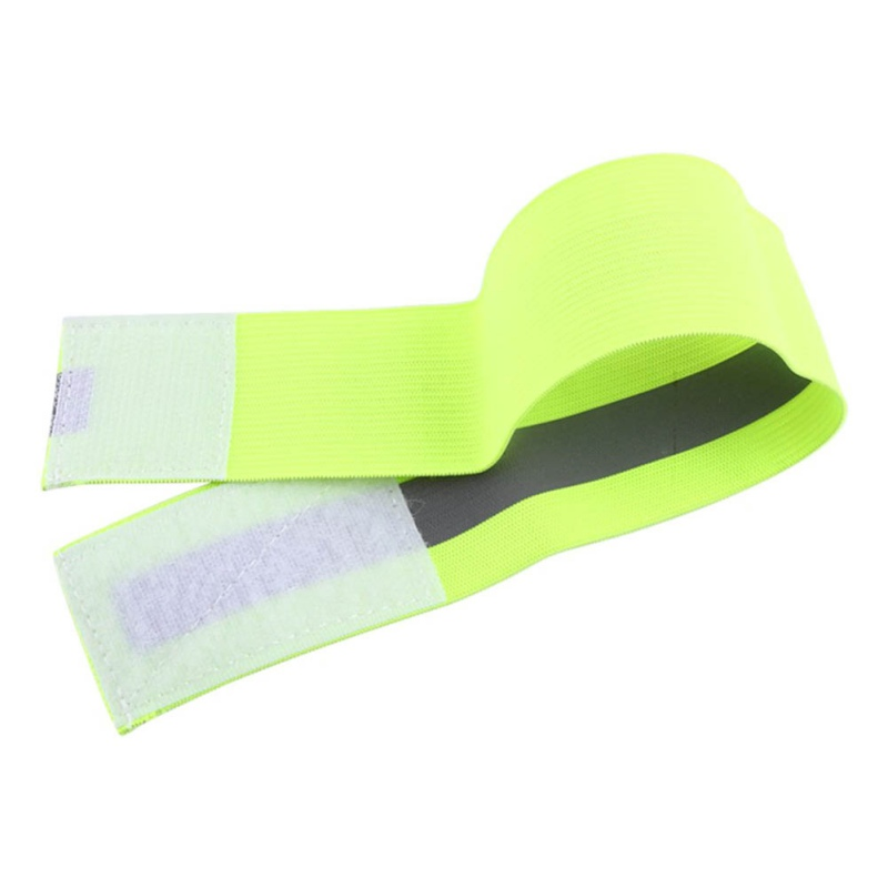Running Arm Warmers Responsible New 40cm Reflective Strap Bracelet Wrist Ankle Arm Band Riding Green Night Light Safety For Walking Running Riding